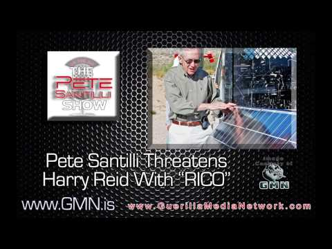 "Pete Santilli Calls & Threatens Harry Reid With ""RICO"" - Capitol Police Investigating?"
