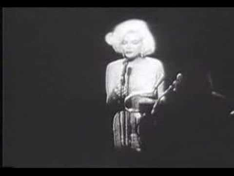 Marilyn Monroe - Happy Birthday Mr. President