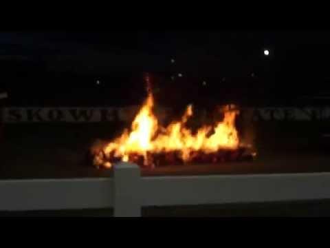 Pyro Fanatics Motorcycle Stunt