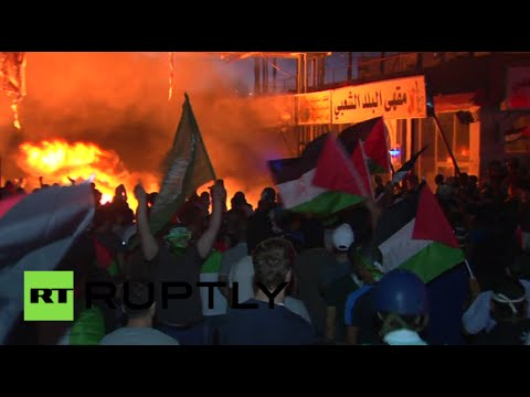 West Bank turmoil: Thousands of Palestinians protest Israeli offensive