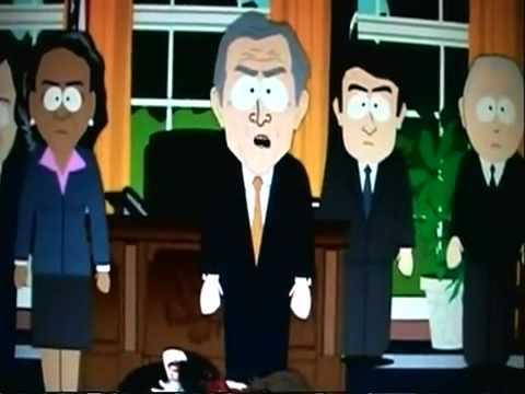 South Park Bush´s Conspiracy, 9-11 was an inside job !
