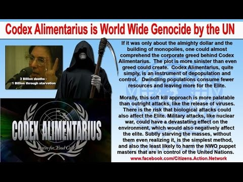 Codex Alimentarius Conspiracy
