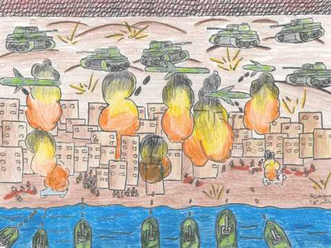 Loss of innocence: Gaza's children tell their story through art