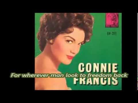 Connie Francis Tribute to JFK In the Summer of His Years