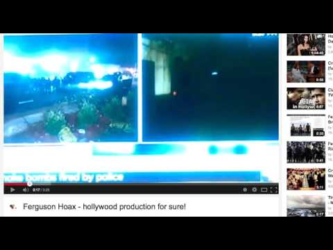 Ferguson Riots FULLY EXPOSED! NWO Divide and Conquer = All Smoke & Mirrors