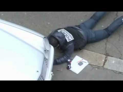 Paris Shooting Hoax   Policeman Taking Selfies After 12 Murdered  WTF