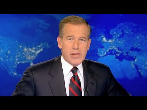 Brian Williams NBC Nightly News Parody - Misremembering Some Stories