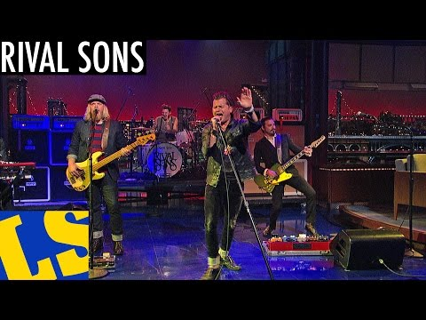 "Rival Sons: ""Open My Eyes"" - David Letterman"