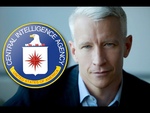 Anderson Cooper Confronted On CIA Media Connections - Runs away & hides in his car like a typical zionist coward