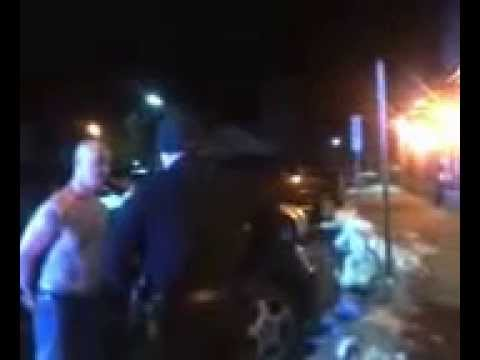 Police brutality : arrested for filming police