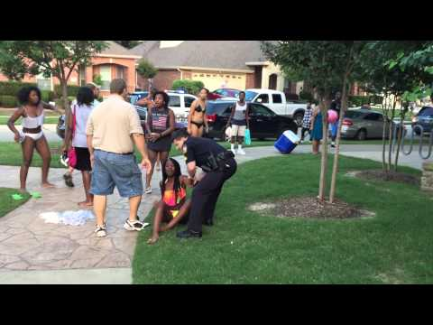 Texas Officer Suspended After Handcuffing & Pulling Out His Weapon On Teens During Pool Party