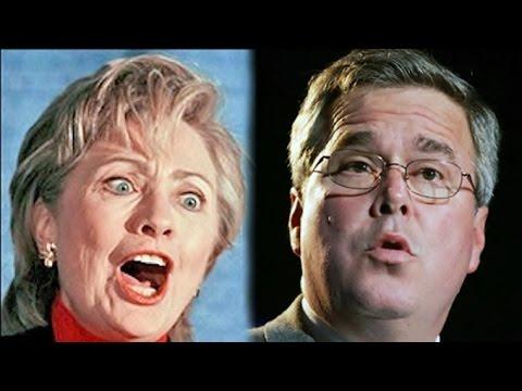 Voting Between Hillary Clinton & Jeb Bush Amounts To Auto-hermaphroditic Worm Fucking