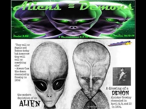 Aliens are Demons ( Fallen Angels) The coming Great Deception!