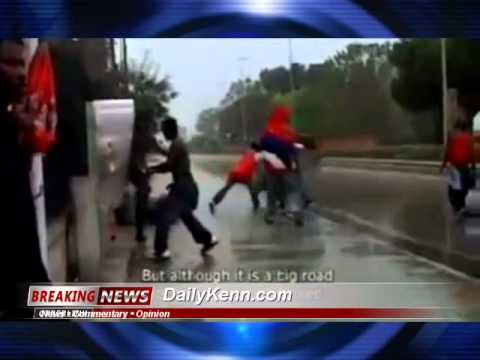 Watch African migrants destroy southern Italy