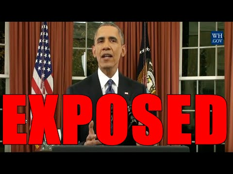 "Obama's ""Keeping the American People Safe"" Speech EXPOSED 100% TRASH (Redsilverj)"