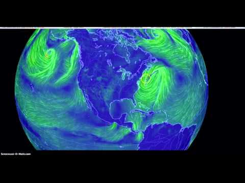 """Giant 'atmospheric """"frequency wave""""' spotted prior to historic Eastern US Storm"""