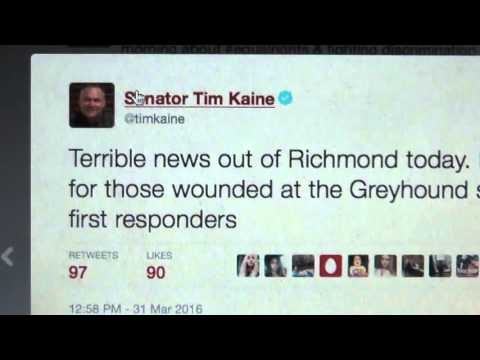Tweet Proves Shooting @Greyhound Station Staged
