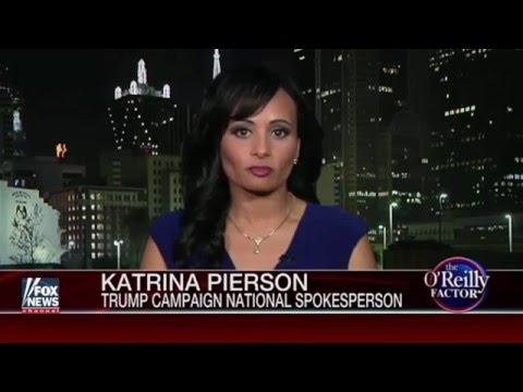 Katrina Pierson Gasses Hillary Clinton on Bill O'Reilly Factor