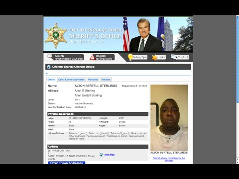 Hoax Verified Alton Sterling Died 2-25-16