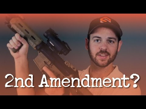 2nd Amendment Doesn't GIVE You the Right to Own Guns
