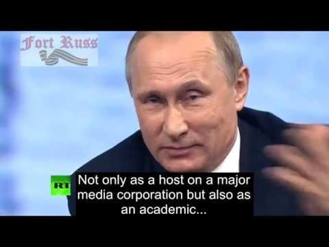Putin crushes CNN smartass Fareed Zakaria on Donald Trump and US elections