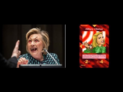 Hillary Clinton- Demoness of The New World Order for President of the USA!