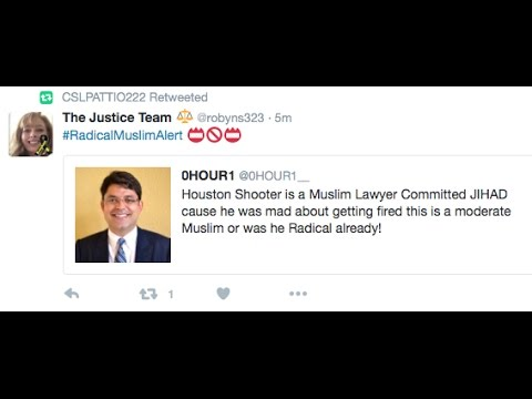 SR 1215 – Houston Mall Shooter is a Muslim Lawyer Who Got Fired