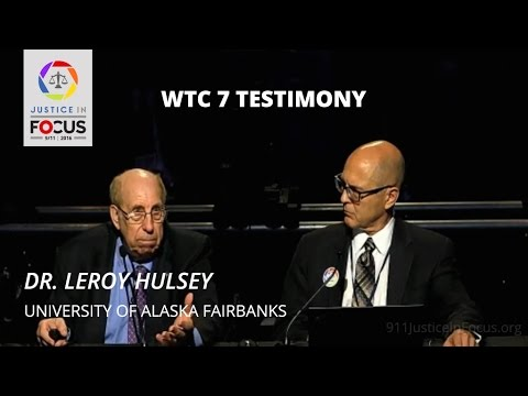 Dr. Leroy Hulsey Testifies before Panel of Attorneys
