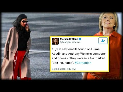 HILLARY'S AIDE VANISHES AFTER ABEDIN'S 'DEADMAN' SWITCH 'LIFE INSURANCE' IS DISCOVERED BY FBI