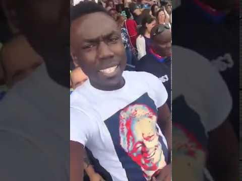 "Video: ""Bill Clinton is a Rapist"" Protesters Crash Obama Speech"