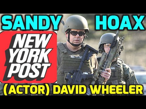 Sandy Hook 'Dad' CAUGHT Playing FBI (NEWTOWN HOAX Proof)