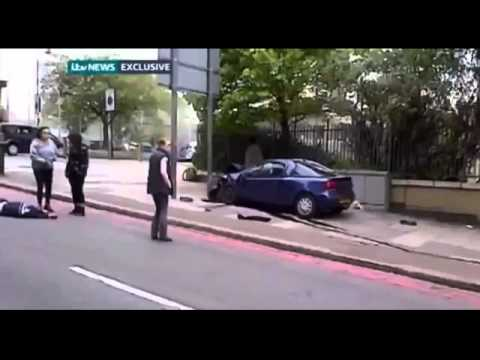 London woolwich machete attack video killer Terrorist Attack 2013
