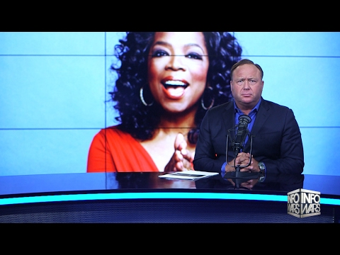 ALEX JONES: The Truth About Oprah Winfrey - (only posting this cause he's drunk again) - Not that I disagree that Oprah is a NWO Whore
