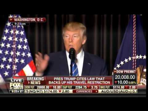 Trump Lashes Out at Liberal Renegade Judges for Blocking Executive Order on Travel Restrictions