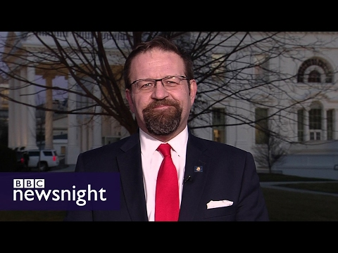 Trump aide Sebastian Gorka accuses BBC of 'fake news' on 'BBC Newsnight' < BRUTAL - MUST WATCH! LMAO!