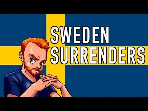 Sweden Officially Surrenders