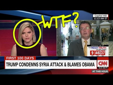 Fake News CNN SHOCKED SPEECHLESS When Congressman Questions Syria Chemical Weapons Story