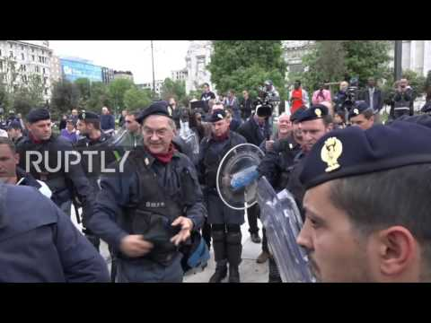 Italy: Migrants evicted as police break up makeshift camp in Milan
