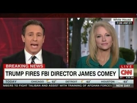 CNN's Chris Cuomo got into a heated discussion with Trump adviser Kellyanne Conway