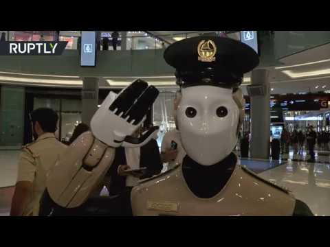 Robocop Guards Mall: World's first robot cop goes on duty in UAE