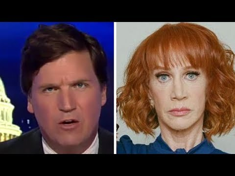 """""""This Isn't Funny!"""" Tucker GOES OFF on Kathy Griffin, CNN, and Liberal """"Comedians"""""""