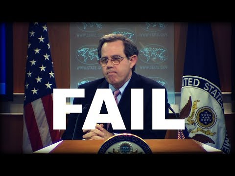 The Most State Dept Press Conference Fail Ever