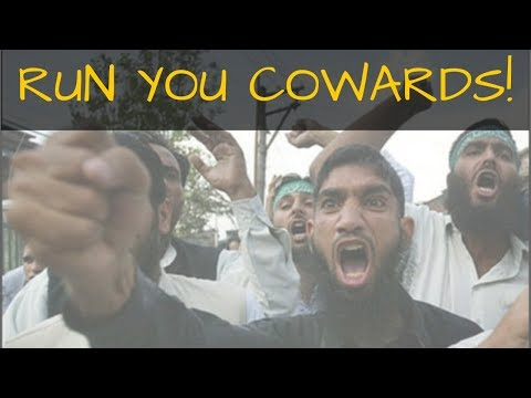 UK Police Running From Muslim Terrorists. FULL VIDEO