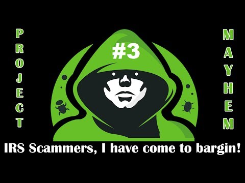 Scammers, I have come to bargain! - Call Flooder
