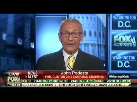 Maria Bartiromo Gets into Heated Debate with John Podesta Over His Ties to Russia