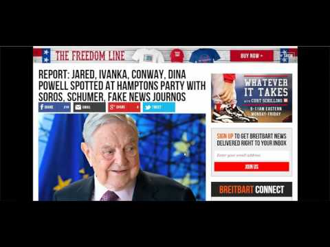 Soros, Ivanka, Schumer, Kellyanne Conway, Fake News Journalists Party Together in Southampton