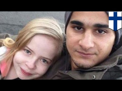 Migrant crisis: Migrant men pose for photos with underage 'girlfriends' in Finland - TomoNews