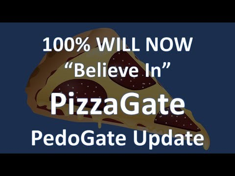 100% Believe PizzaGate After Watching This PedoGate Update Video