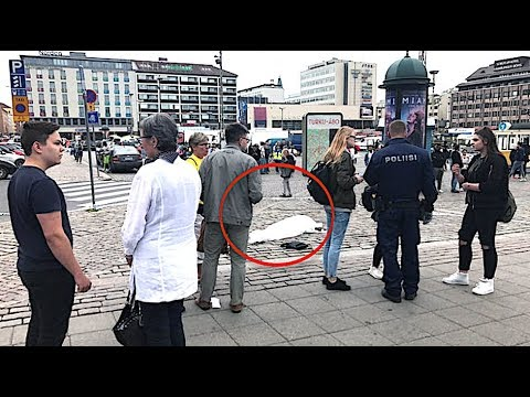 MASS STABBING in Turku Finland: Attacker and Suspects Alive
