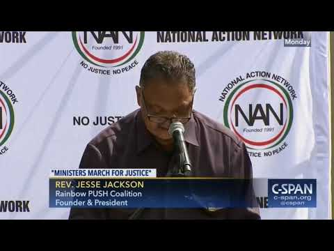 Jackson: Trump Can't Get Into 'Jesus's Kingdom'; 8-28-2017